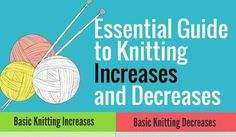 We say that knitting is just two things: knitting and purling. But that isn't really true. There are some other moves that admittedly aren't any more difficult than knitting and purling…