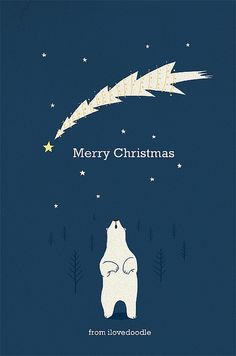 Wish you all a Great Christmas! | ILoveDoodle via Flickr