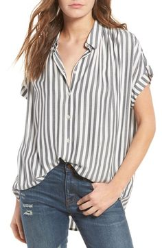 Madewell Central Shirt available at #Nordstrom