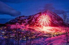 Does YOUR town do this for the 4th of July AND New Years? Didn't think so. Crested Butte is the best.