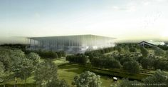 Herzog & De Meuron, nouveau stade, bordeaux. Via afasia blogspot