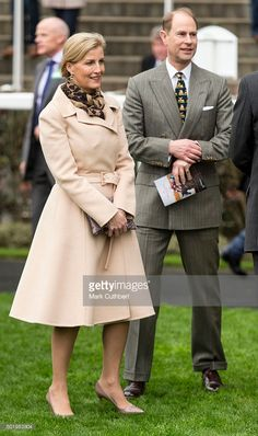 Sophie, Countess of Wessex and Prince Edward, Earl of Wessex attend the Christmas Racing Weekend at Ascot Racecourse on December 19, 2015 in Ascot, England.