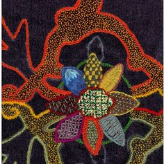 crewelwork pillows by Rabia Nazari Jacobean Embroidery, Embroidery Motifs, Lesage, Textile Art, Fiber Art, Design Elements, Needlework, Weaving, Textiles
