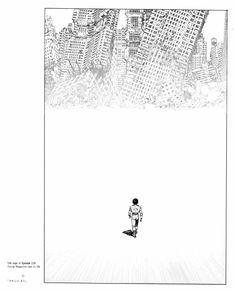 among the ruins. #Akira #comic
