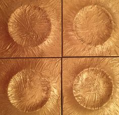 Wall tiles with gold texture, Tony Horton Collection