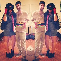 Couples Halloween costumes are all about the cute, creative, and clever ideas that perfectly represent you and your partner. Unique costumes are as fun to put Costumes Sexy Halloween, Couples Halloween, Halloween Kostüm, Halloween Cosplay, Holidays Halloween, Food Costumes, Unique Costumes, Diy Costumes, Costume Ideas