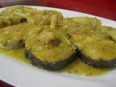 RECETAS DIETA DISOCIADA MERLUZA EN SALSA AL CURRY (para 3 personas) Ingredientes: merluza 1 cebolla cortada pequeña 2 ó 3 dientes de ...