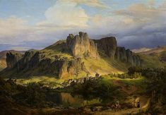 Wandering Silent Vertexes and Frozen Peaks: HOHE ACHT BY CARL FRIEDRICH LESSING