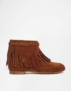 Leather suede tassels