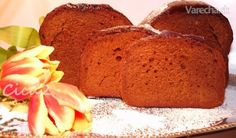 Perník z domácej pekárničky (fotorecept) - Recept Favorite Recipes, Russian Recipes, Bread, Polish, Food, Basket, Vitreous Enamel, Brot, Essen