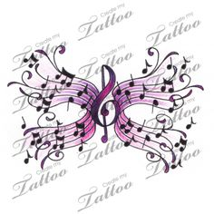 When done properly, a reduced back tattoo could be both sexy and stylish. These tattoos are usually found on older and young females. Tattoos on this particular part of the rear are very popular that Music Tattoo Designs, Butterfly Tattoo Designs, Music Tattoos, Mom Tattoos, Body Art Tattoos, Tatoos, Music Designs, Butterfly Design, Spine Tattoos For Women