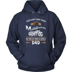 """This Dad Loves Motorcycles"" T-Shirt"