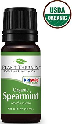 Plant Therapy USDA Certified Organic Peppermint Essential Oil 100 Pure Undiluted Therapeutic Grade 10 ml 13 oz ** You can find more details by visiting the image link. Melaleuca Essential Oil, Antibacterial Essential Oils, Diluting Essential Oils, Citronella Essential Oil, Essential Oils For Skin, Lemongrass Essential Oil, Therapeutic Grade Essential Oils, Citronella Oil, Anti Aging
