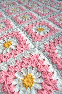 I'm almost finished with Lynette's pink daisy afghan. I really like how it's turning out. Hopefully, she will too!           I did get some ...