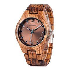 Wish  Bobo Bird Wood Watch Men Relogio Masculino Special Design Timepieces  Quartz Watches In 70fa112b4f