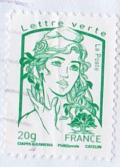 FRANCE - stamp