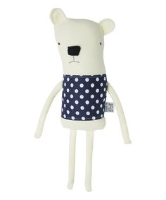 Polar Bear Fleece Plush Toy