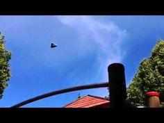 Triangular UFO Over Kassel, Germany On June 26, 2014 -