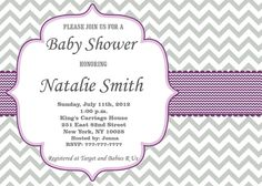 Baby Shower Invitation Girl Baby Shower invitations by diymyparty, $10.00