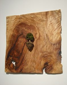 Keisuke Tanaka carves miniature landscape into wood