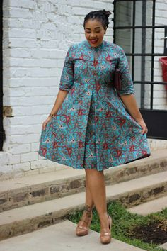 Round Dress with sleeves – Bow Africa Fashion - Fashion Sofisty WoW African Print Dresses, African Print Fashion, Africa Fashion, African Fashion Dresses, African Dress, Fashion Outfits, Fashion Ideas, Fashion Quotes, African Attire
