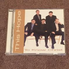 This Hope To Know Christ (CD, Music, Christian, Gospel, Male, Vocals, 1998) #Christian