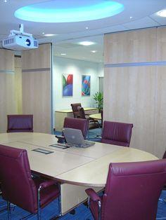 Coda Harrogate, training rooms with bi-fold wall partly closed
