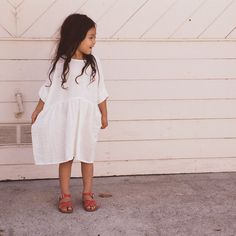 Cotton Una Dress -White - 2-8y – MamaOwl