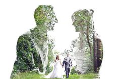 Double Exposure Portraits by John Williams Double Exposure Photography, Photography Basics, Creative Couples Photography, Dark Art Illustrations, Wedding Album Design, Couple Photoshoot Poses, Multiple Exposure, Wedding Photography Inspiration, Wedding Pictures