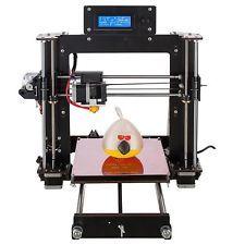 ¡Libre de impuestos!- CTC DIY Prusa I3 Pro B impresora 3D MK8 LCD ABS PLA WOOD