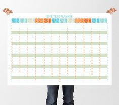 Afbeeldingsresultaat voor anual wall planner 2018