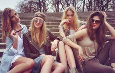 Just! Nice! justpaul.pl photo : Dorota Porębska models: Ludwika Cichecka, Marta Rybak, Małgosia Guzowska , Killa Rioja