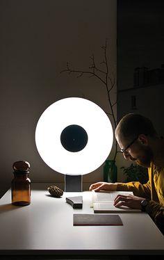 """PHASES"" lamp by Ferréol Babin"