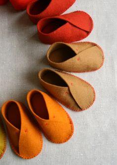 The Cutest DIY Felt Baby Shoes | Kidsomania