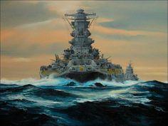 IJN Yamato en 1945