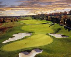 The Jack-Nicklaus designed Creighton Farms Golf Club is only 15 minutes from the Salamander Resort & Spa.