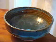 Len Castle Pottery: Footed Bowl