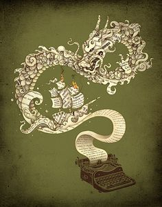 """You can make anything by writing."" - C.S. Lewis 