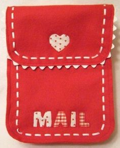 Valentine's Day Chairbacker!  Perfect for those special love letters and goodies!