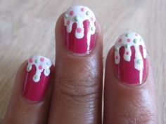 #nail #art #cute #food