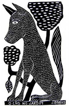 O cão no jardim - J.Borges | Flickr – Compartilhamento de fotos!