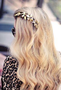 Pretty hair comb