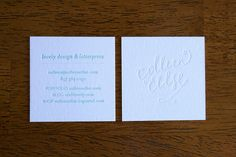 business card of craft lovely