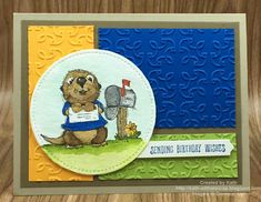 Created By Kath: Postcard Pals- Otter