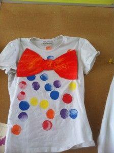 T-shirt voor de poppenhoek
