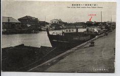 台南西市場, 運河望去
