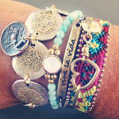 Bohemian chic jewelry. #boho