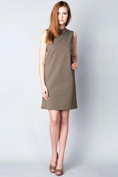 x Платье цвета хаки Silvian Heach