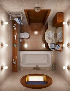 Small House Bathroom White And Orange Tiny Bathroom Classic Bathroom Design Classic Small Bathroom Design Small House Bathroom Layout Bathroom Lighting Design, Bathroom Layout, Modern Bathroom Design, Bathroom Interior Design, Bathroom Designs, Modern Design, Interior Paint, Home Design, Contemporary Design