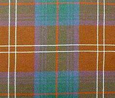 Chisholm Hunting (Ancient Colours) Tartan